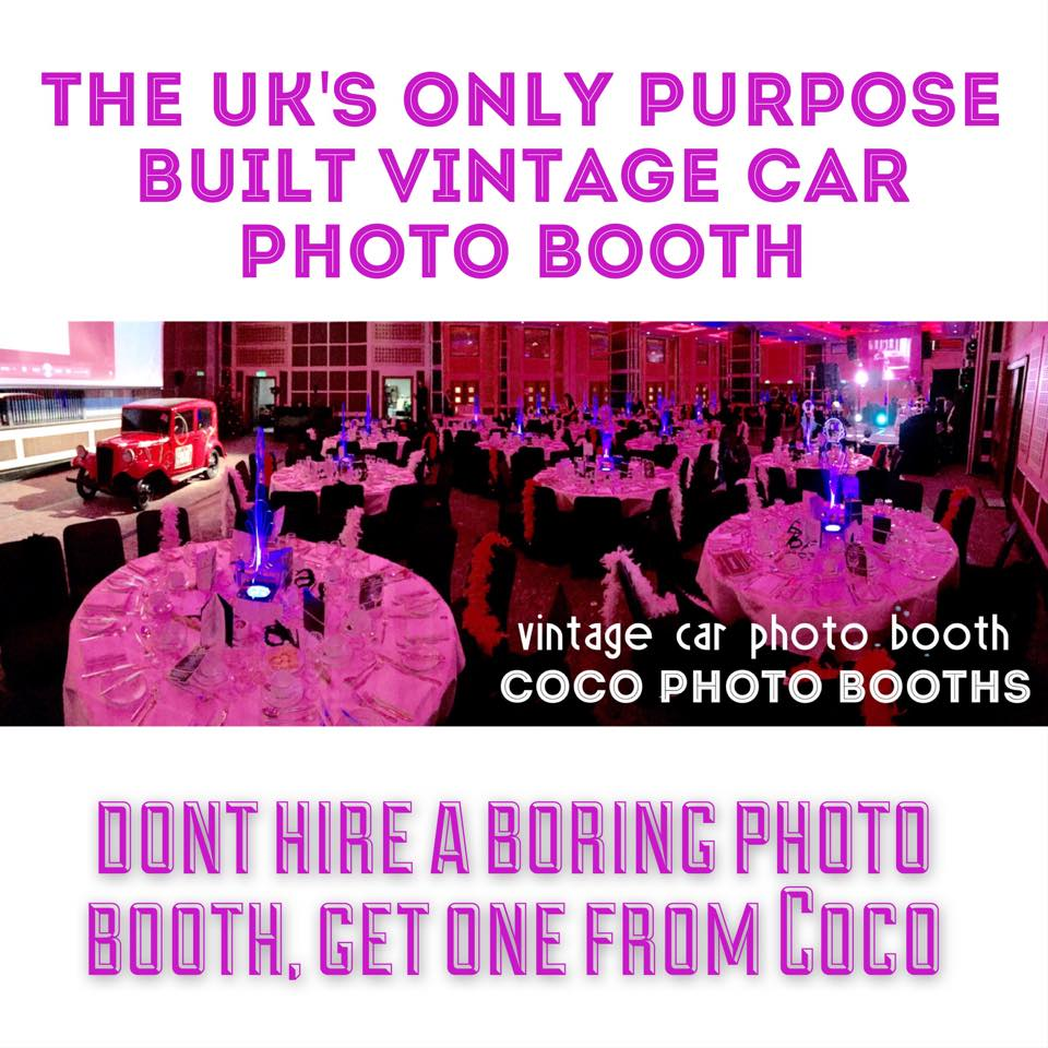 Vintage Car Photo Booth