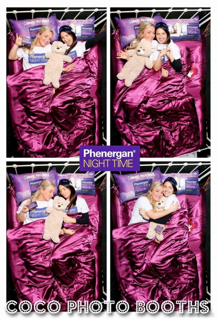 Coco Photo Booths Bed Photo Booth