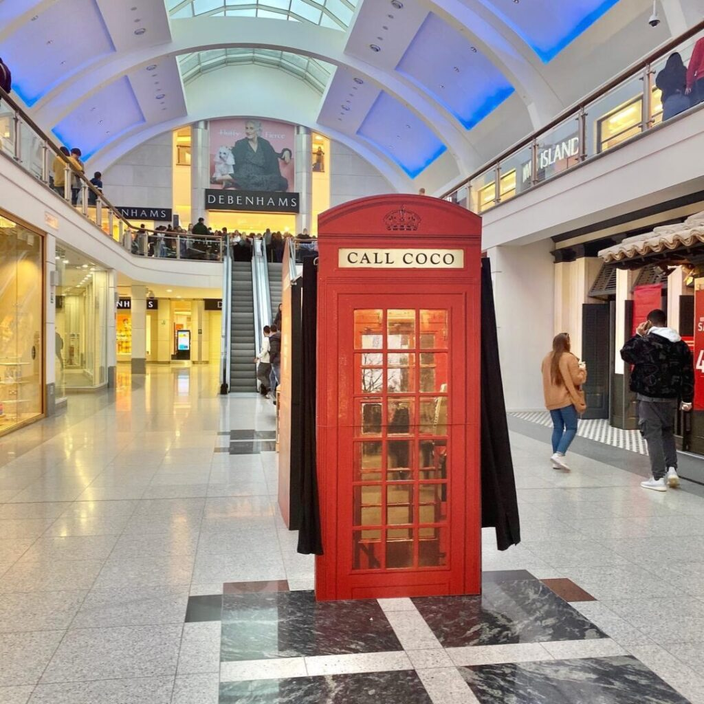 Red Phone Box Photo Booth