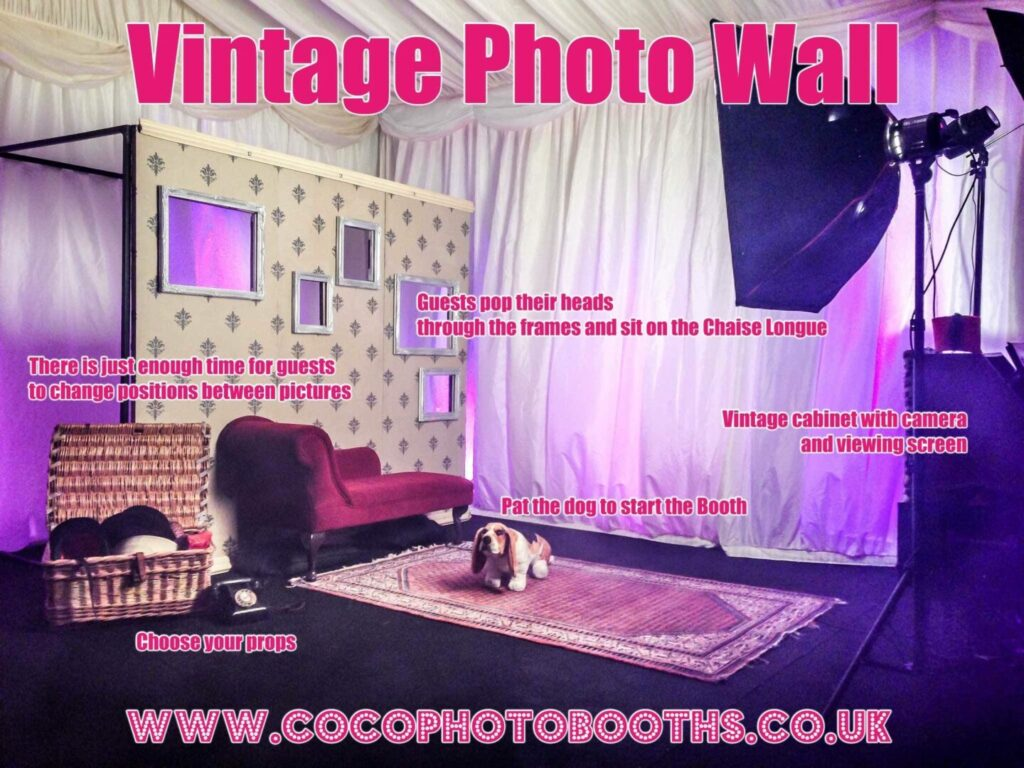 Vintage Wall Photo Booth
