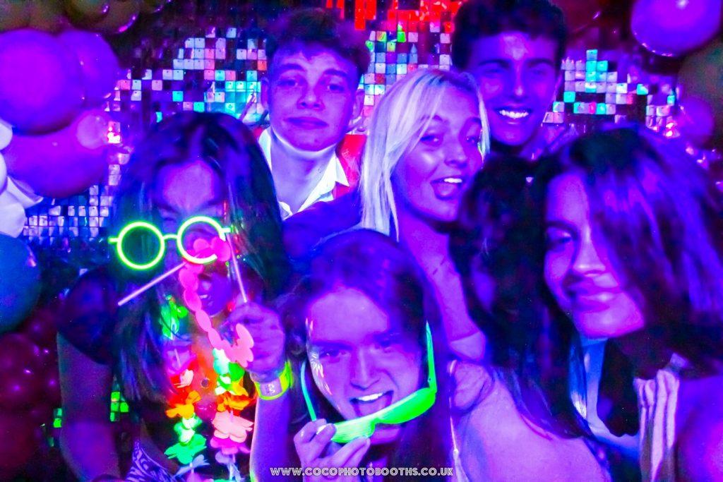 Neon Light Photo Booth